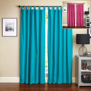 Twill Insulated Curtain Panels (Set of 2)