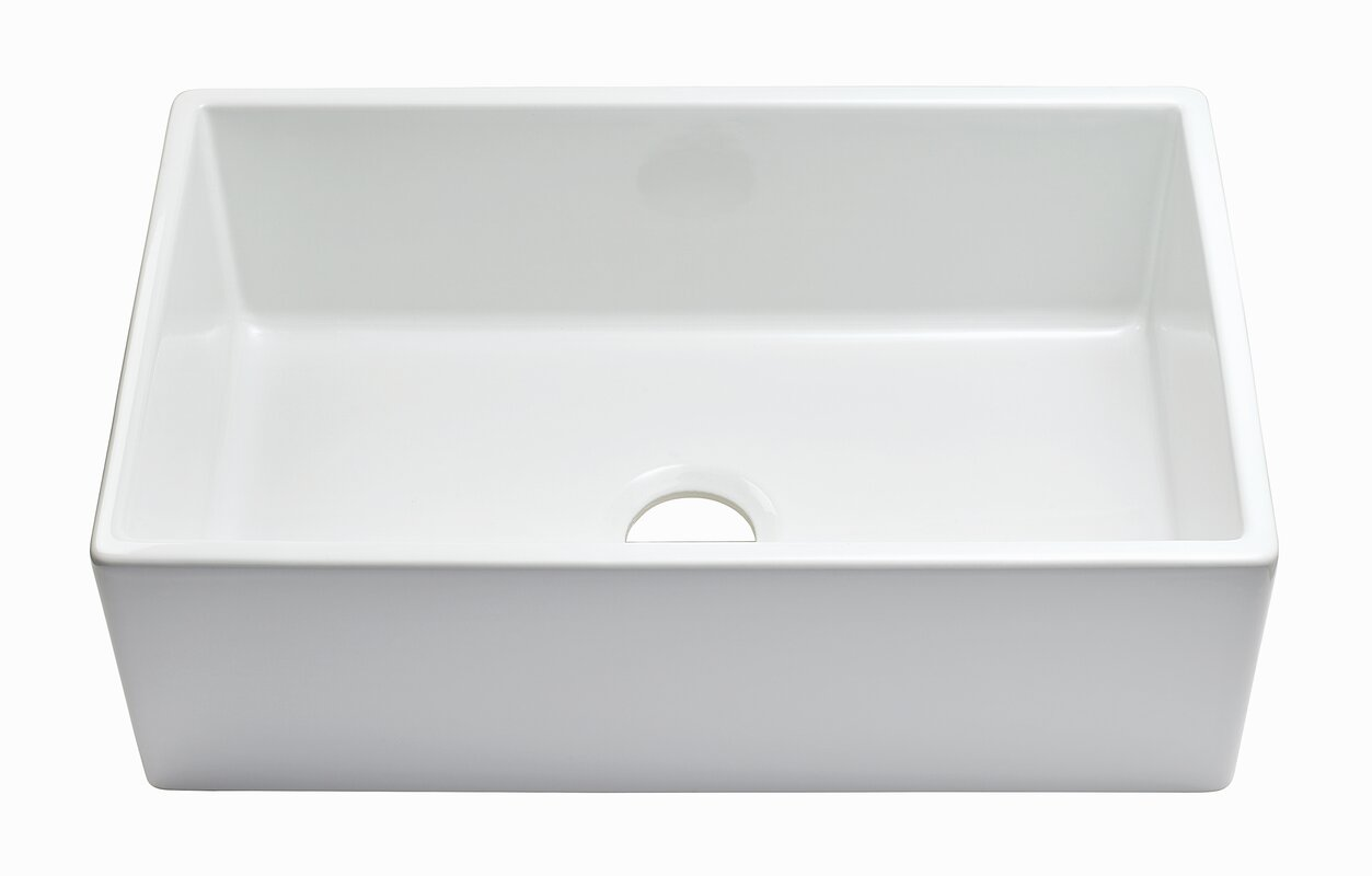 wabansia reversible fluted front 30   x 18   farmhouse kitchen sink with     wabansia reversible fluted front 30   x 18   farmhouse kitchen sink      rh   jossandmain com