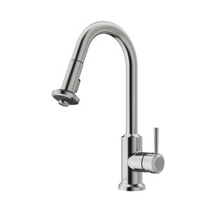 Astor Pull Down Single Handle Kitchen Faucet with Optional Soap Dispenser By VIGO