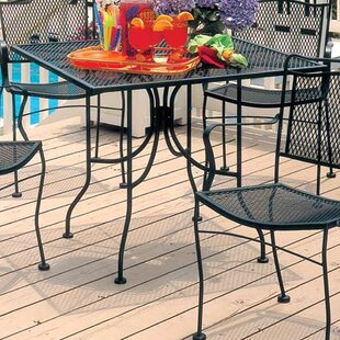 Meadowcraft Square Micro Mesh Table
