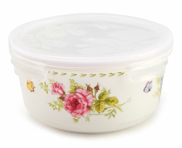 Ceramic Sophie Round 20 63 Oz Food Storage Container