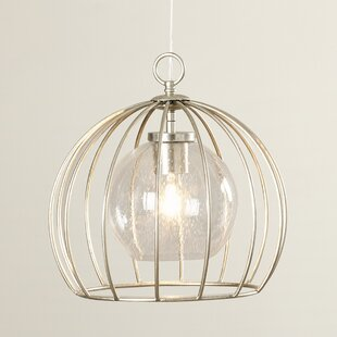 Aarons 1-Light Bowl Pendant