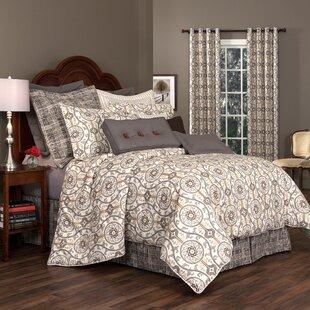 Adamstown At Home Brunswick 100% Cotton 4 Piece Comforter Set