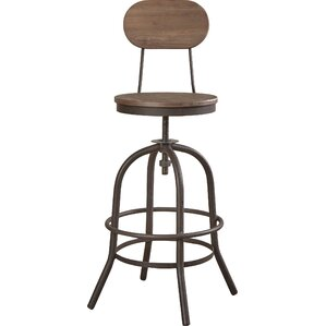 Howe Adjustable Height Swivel Bar Stool by Trent Austin Design