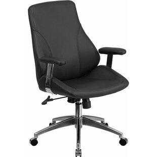 Latitude Run Mccrea Mid-Back Ergonomic Executive Chair