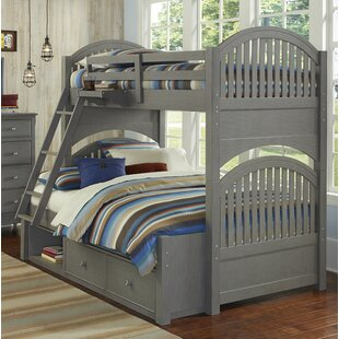 Best Reviews Nickelsville Twin Over Full Bunk Bed with Storage by Three Posts Reviews (2019) & Buyer's Guide