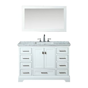 Stian 48 Single Sink Bathroom Vanity Set with Mirror