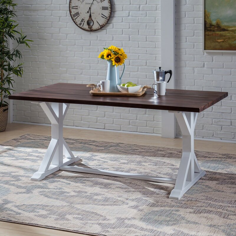Gracie Oaks Hyde Rustic Farmhouse Solid