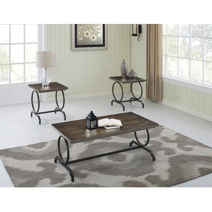 Altariq 3 Piece Coffee Table Set