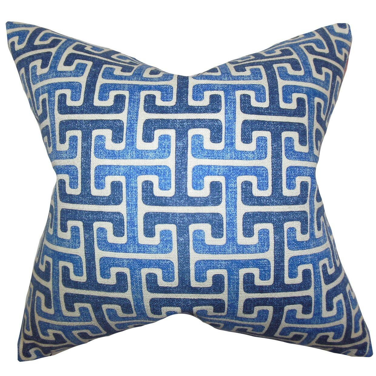 Bloomsbury Market Delmore Geometric Cotton Throw Pillow Cover Wayfair