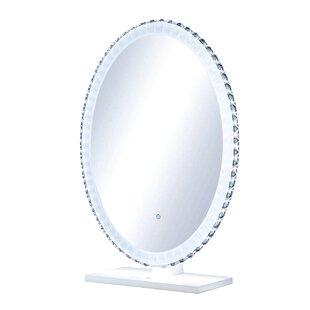 Kasey Crystal Bathroom / Vanity Mirror by Rosdorf Park
