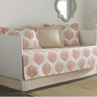 Coral Coast 5 Piece Reversible Quilt Set