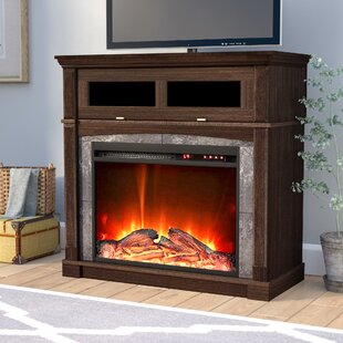 Morgandale TV Stand for TVs up to 32 with Fireplace