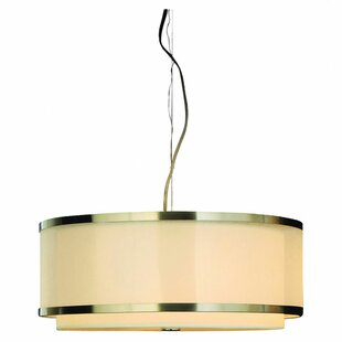 Ebern Designs Mcginley 3-Light Drum Pendant