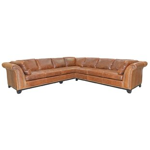 Omnia Leather Kingsley 4 Piece Leather Living Room Set