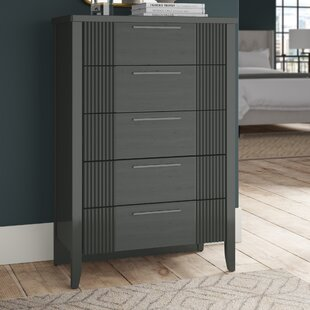 Coppin 5 Drawer Standard Dresser Chest