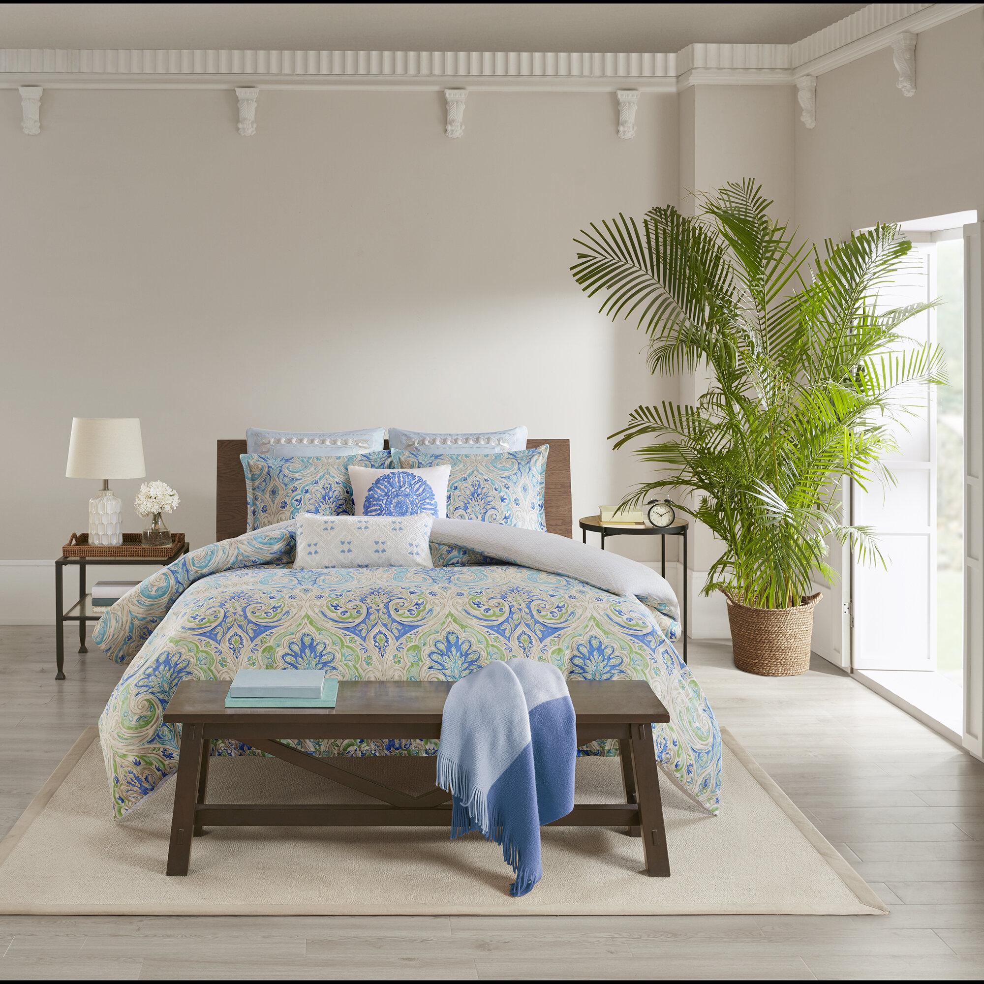 Echo Design Ravi 100 Cotton Reversible Bedding Set Wayfair