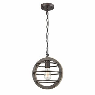 17 Stories Aarush Vintage Industrial 1-Light Globe Pendant