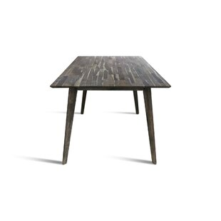 Union Rustic Bowerman Solid Wood Dining T..