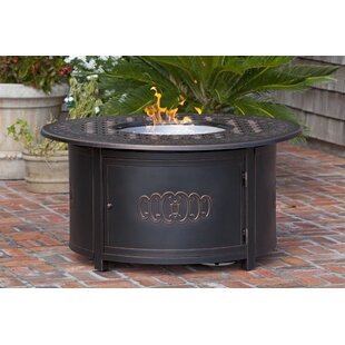 Fire Sense Dynasty Aluminum Propane Fire Pit Table