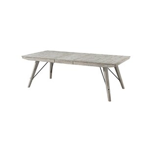 Gracie Oaks Bemelle Rustic Trestle Table
