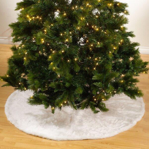 Christmas Tree Skirt Faux Fur Wayfair