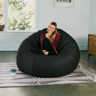 Charmant Denim Cocoon 6u0027 Bean Bag Chair
