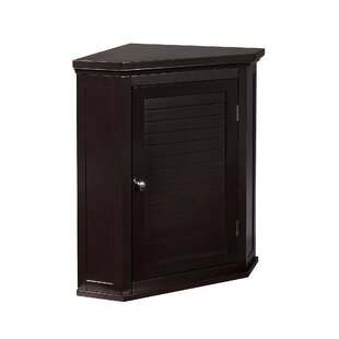Ethan 57cm X 61cm Corner Wall Mounted Cabinet By Elegant Home Fashions