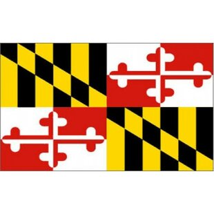 Maryland Traditional Flag By NeoPlex