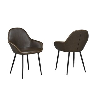 Burciaga Upholstered Dining Chair (Set of 2) by Brayden Studio