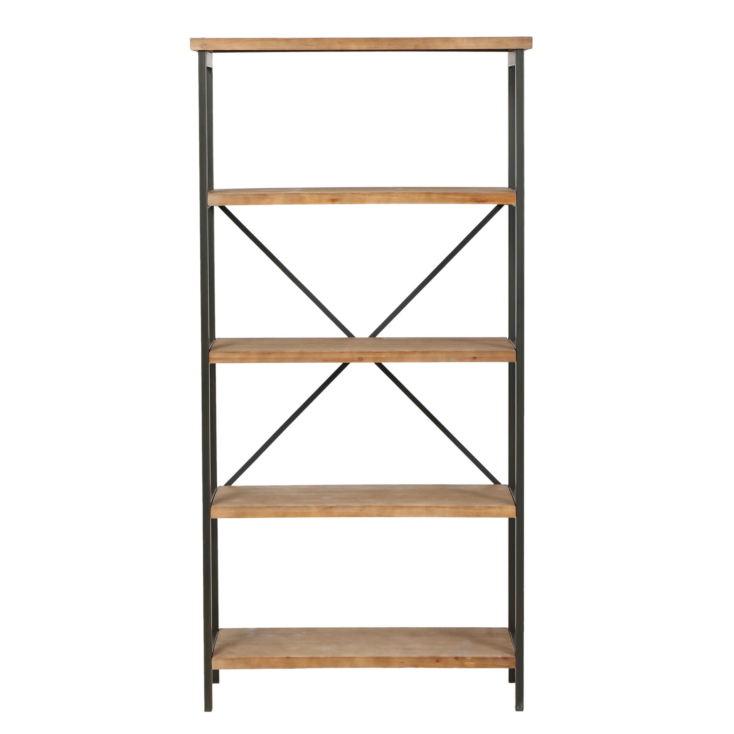 Mercury Row Parthenia Etagere Bookcase Amp Reviews Wayfair