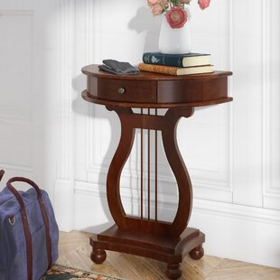 Bon Dufresne Half Moon Harp Console Table