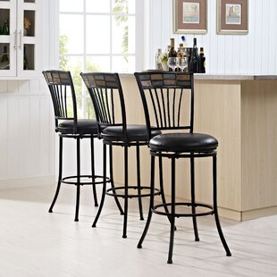 Kyson 45.75 Swivel Bar Stool World Menagerie