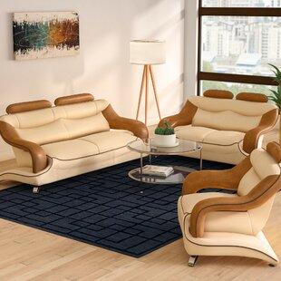 Mcfall 3 Piece Living Room Set