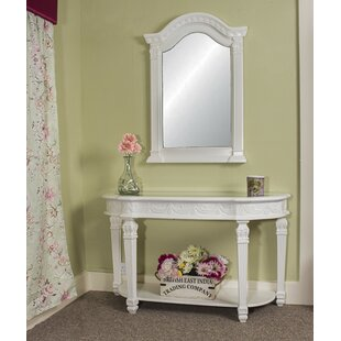 Dods Console Table With Mirror By Rosalind Wheeler