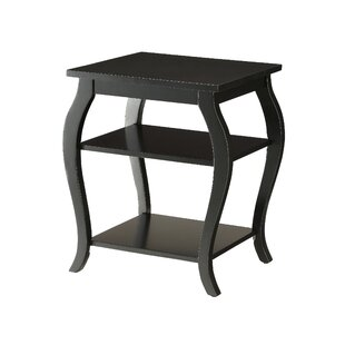Jusino 2-Shelf End Table by Alcott Hill