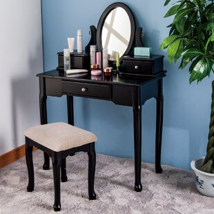 Merax Vanity Set with Mirror