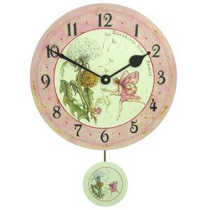 285cm dandelion fairy pendulum wall clock