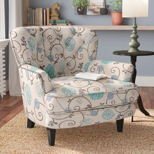 Hamburg Floral Armchair & Accent Chairs Youu0027ll Love | Wayfair