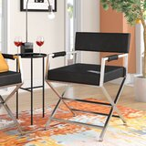 Chamorro 22 W Faux Leather Armchair (Set of 2) by Latitude Run®