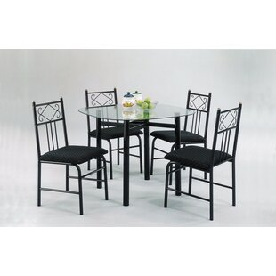 Oquendo 5 Piece Dining Set by Winston Porter