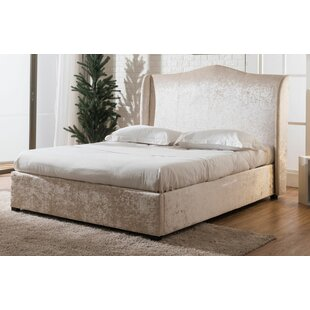 Winged Back Upholstered Ottoman Bed By Rosdorf Park