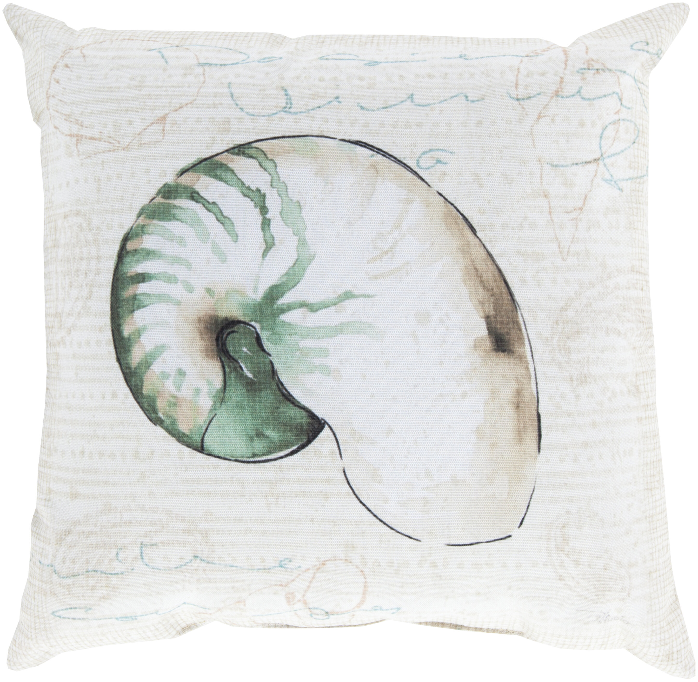 Highland Dunes Chaucer Charm By The Sea Outdoor Throw Pillow Reviews Wayfair