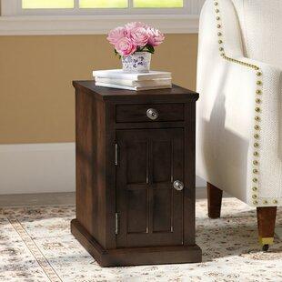 Three Posts Ferranti End Table With Storage