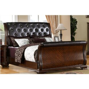 Reviews Leanne Upholstered Sleigh Bed by Canora Grey Reviews (2019) & Buyer's Guide