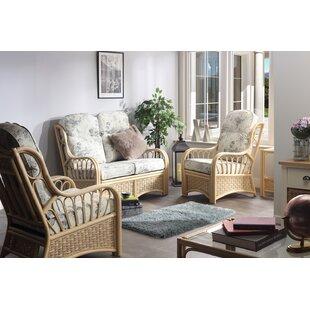 Review Alaina 5 Piece Conservatory Sofa Set