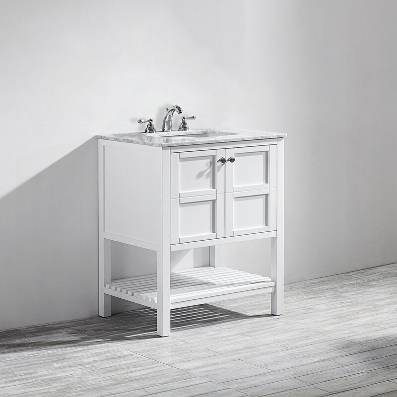Beachcrest Home Zara 30 Single Bathroom Vanity Set Reviews Wayfair