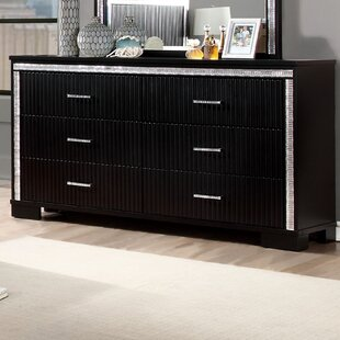 Viridian 6 Drawer Double Dresser by House of Hampton Reviews