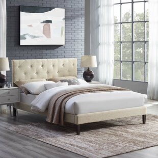 Find for Perrinton Upholstered Platform Bed by Ebern Designs Reviews (2019) & Buyer's Guide