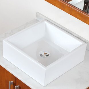 Best Ceramic Square Vessel Bathroom Sink By Royal Purple Bath Kitchen